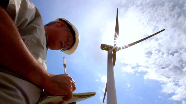 Wind Turbine Evaluation HD video