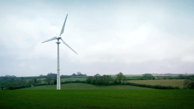 Wind Turbine In The Countryside video