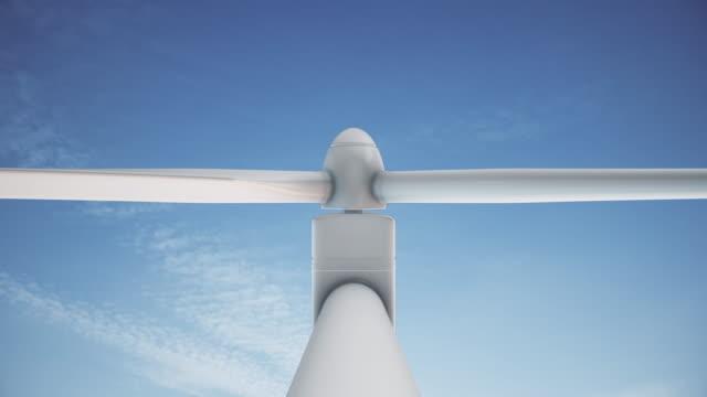 4K Wind Turbine   Loopable video