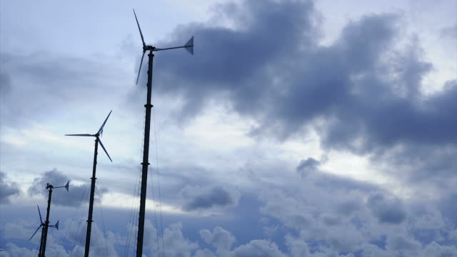 Wind turbine. video