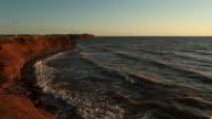 Wind Turbines On The Coast video