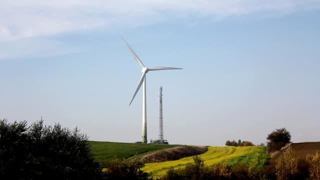 Wind turbines (HD) video