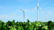 HD: Wind Turbines video