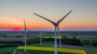 AERIAL : Wind Turbines video