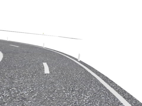 Winding Road (NTSC Animation) video