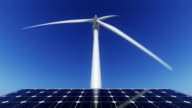 Windmill and solarpower video