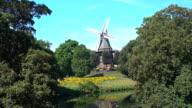 Windmill in Bremen video