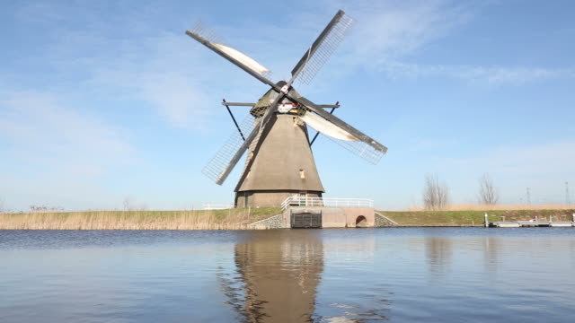 Windmill in Kinderdijk video