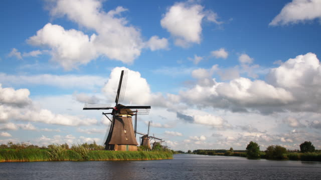 Windmill in the Netherlands video