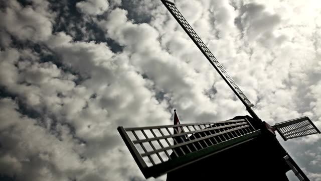 HD: Windmill Silhouette video