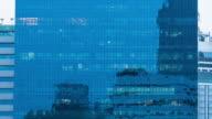 Windows of Skyscraper Business Office video