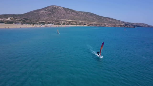 Windsurfers In Action video