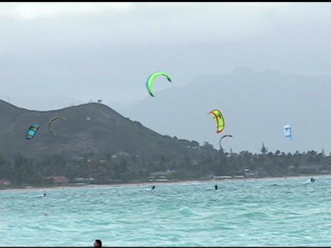 Windsurfing in Hawaii video