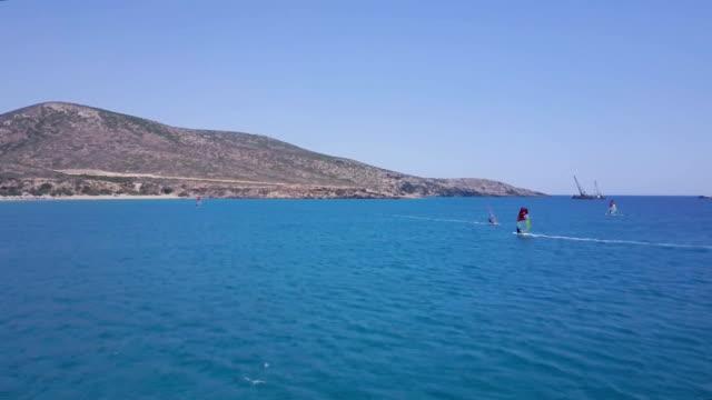 Windsurfing Mediterranean video