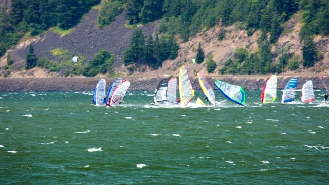 Windsurfing video