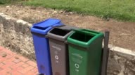 Windy, Trash Cans, Garbage, Recycling video