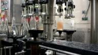 wine bottles bottling automation machinery video