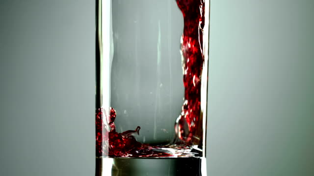 wine, grape juice is poured into a glass video