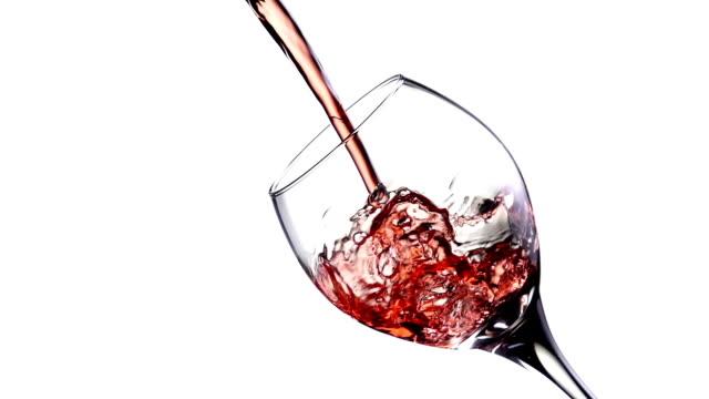 Wine Pour Slow Motion video