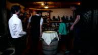 HD WIDE: Wine serving video