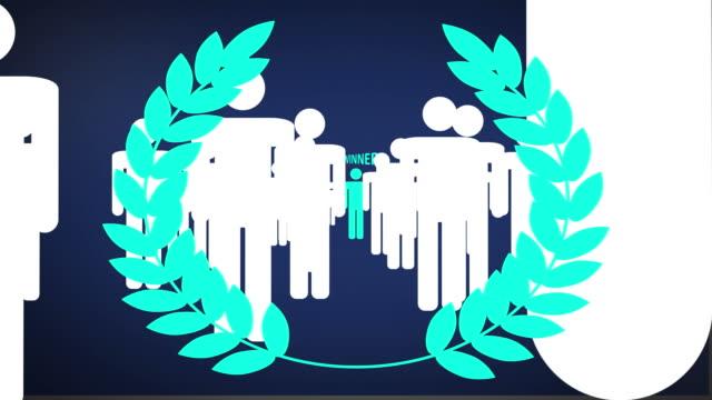 Winner blue laurels video