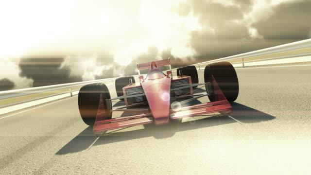 Winner F1 Racing Car - Cinematic Style video
