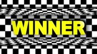 Winner Text in Checker Door video