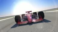 Winning Formula 1 Racing Car video