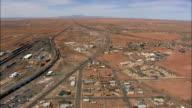 Winslow - Aerial View - Arizona,  Navajo County,  United States video