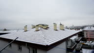 Winter at Ankara - Roof appearance video