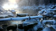 winter cascade in tirol video