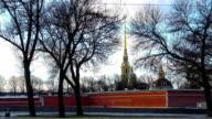 Winter city. St. Petersburg. Russia video