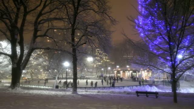 Winter in Boston video