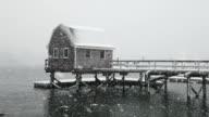 Winter in Maine video