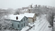 Winter in New Bedford, Massachusetts video