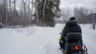 winter in ontario 4K video video