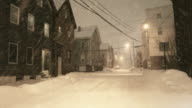 Winter in Portland, Maine video