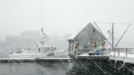 Winter in Portsmouth, New Hampshire video