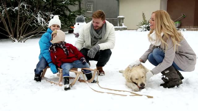 Winter joy video