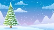 Winter Landscape 2 video