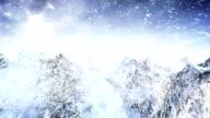 Winter landscape (day) - Loop video