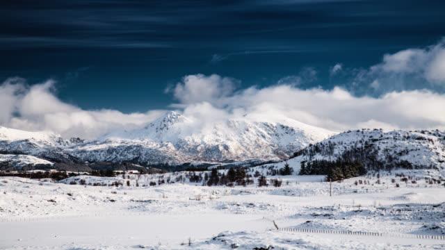 TIME LAPSE: Winter Landscape video