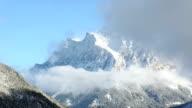 Winter mountain landscape (Austria, Fernpass, Tiroler Alpen) video