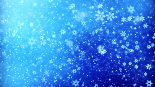 Winter nature background loop video
