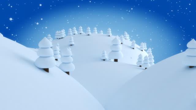 Winter night. video