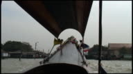 (HD1080) Winter On the Bangkok Klongs (Canals) - Boat View video