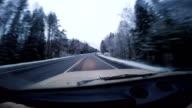 winter path video