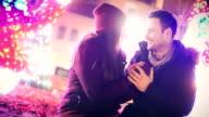 Winter romance. video