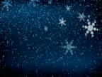 Winter Snow Blizzard Background video