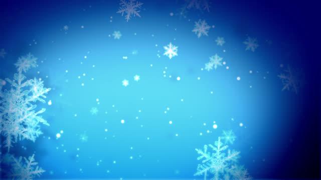 Winter Snow Falling video